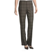 Peace of Cloth Panticular Vera Pants - Noble Flannel (For Women) in Plaid - Closeouts