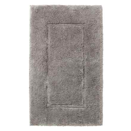 Peacock Alley Cotton-Modal Bath Rug in Grey - Closeouts