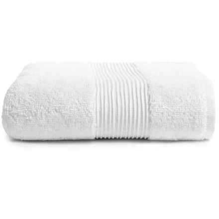 Peacock Alley Del Ray Hand Towel in White - Closeouts