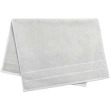 Peacock Alley Dublin Bath Mat - Egyptian Cotton in Glacier - Overstock