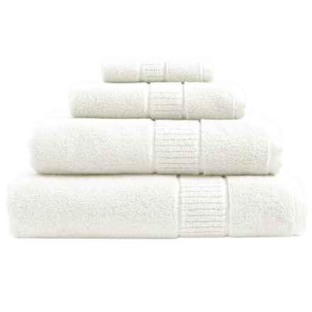 Peacock Alley Dublin Bath Sheet - Low Twist, Egyptian Cotton in Ivory - Overstock