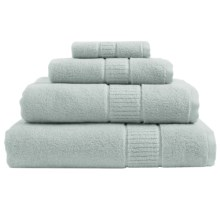 Peacock Alley Dublin Bath Towel - Low Twist, Egyptian Cotton in Glacier - Overstock