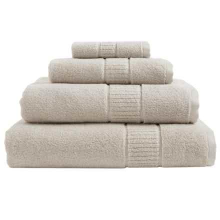 Peacock Alley Dublin Bath Towel - Low Twist, Egyptian Cotton in Linen - Overstock