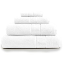 Peacock Alley Dublin Bath Towel - Low Twist, Egyptian Cotton in White - Overstock