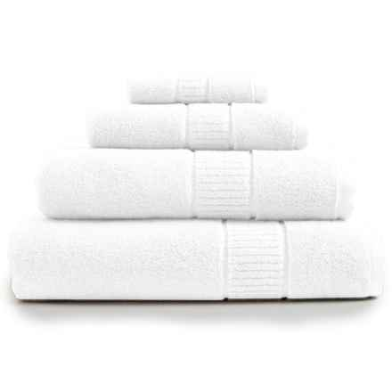 Peacock Alley Dublin Hand Towel - Low Twist, Egyptian Cotton in White - Overstock