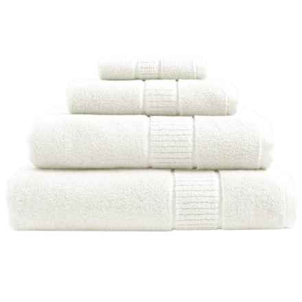 Peacock Alley Dublin Washcloth - Low Twist, Egyptian Cotton in Ivory - Overstock