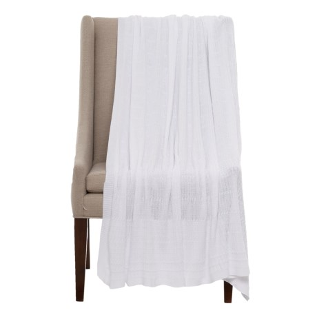 Image of Peacock Alley Mira Throw Blanket - 50x70?