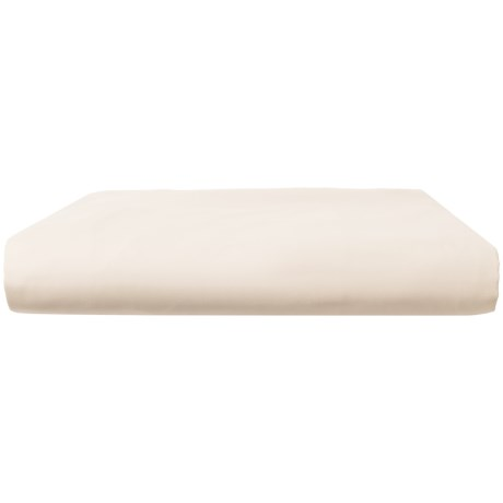 Peacock Alley Quartet Fitted Sheet - Queen in Ivory