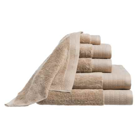 Peacock Alley Riviera Towel Set - 6-Piece in Taupe - Closeouts