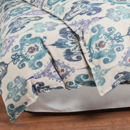 Peacock Alley Simone Collection Duvet - King, Cotton in Amethyst - Overstock