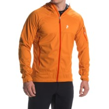 Peak Performance Aneto Hooded Jacket (For Men) in Calendula - Closeouts