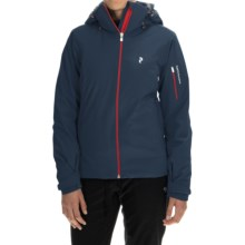 Peak Performance Anima Ski Jacket - Waterproof, Insulated (For Women) in Blue Shadow - Closeouts