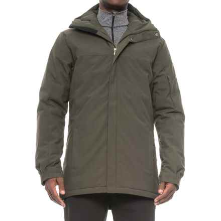 Peak Performance Aston Jacket - Insulated (For Men) in Oliveextreme - Closeouts
