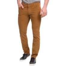 Peak Performance Barrow Corduroy Pants - Slim Fit (For Men) in Dark Honey - Closeouts