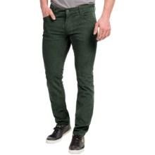 Peak Performance Barrow Corduroy Pants - Slim Fit (For Men) in Yale Green - Closeouts