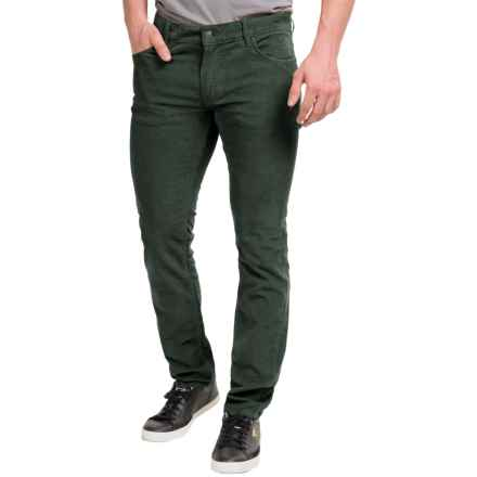 Peak Performance Barrow Corduroy Pants - Slim Fit (For Men) in Yale Green - Closeouts