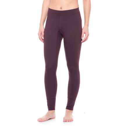 Peak Performance Base Layer Leggings (For Women) in Mahogany - Closeouts
