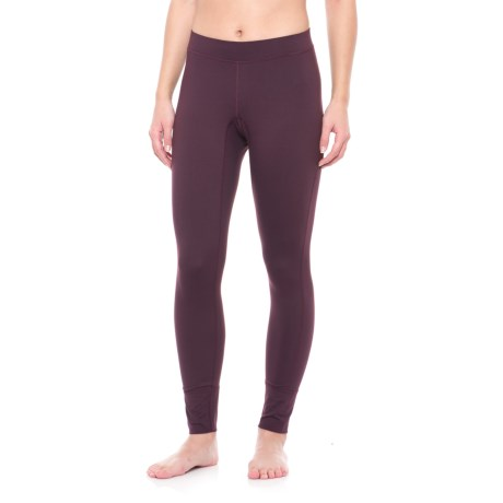 Peak Performance Base Layer Leggings (For Women) in Mahogany