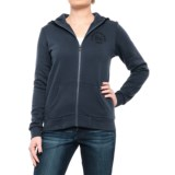 Peak Performance Comfy Hoodie - Full Zip (For Women)