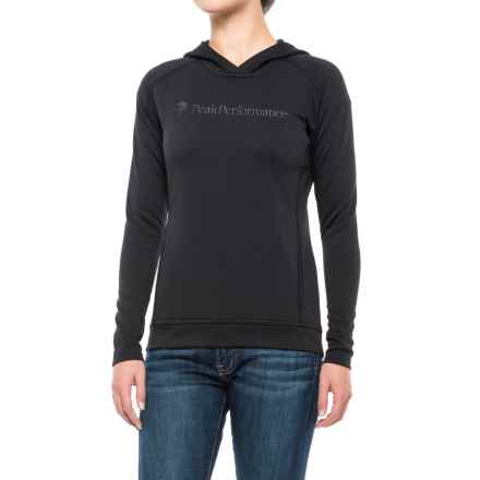 Peak Performance Direction Hoodie (For Women) in Black - Closeouts