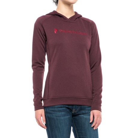 Peak Performance Direction Hoodie (For Women) in Mahogany