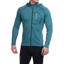 Peak Performance Dixon Hooded Jacket (For Men) in Mosaic Blue - Closeouts