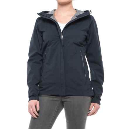 Peak Performance Driz Jacket - Waterproof (For Women) in Saluteblue - Closeouts