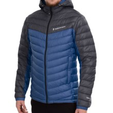 Peak Performance Frost Down Hooded Ski Jacket - 700 Fill Power (For Men) in Blue Ocean - Closeouts