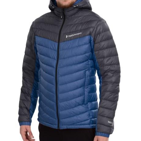 Peak Performance Frost Down Hooded Ski Jacket 700 Fill Power (For Men)