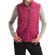 Peak Performance Frost Down Vest - 700 Fill Power (For Women) in Dark Passion - Closeouts