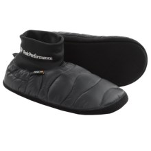 Peak Performance Heilum Down Slipper Socks - 650 Fill Power (For Men and Women) in Skiffer - Closeouts