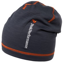 Peak Performance Heli Alp Beanie (For Men and Women) in Coal - Closeouts