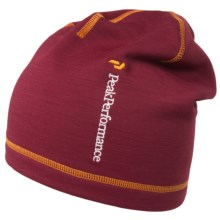Peak Performance Heli Alp Beanie (For Men and Women) in Dark Passion - Closeouts