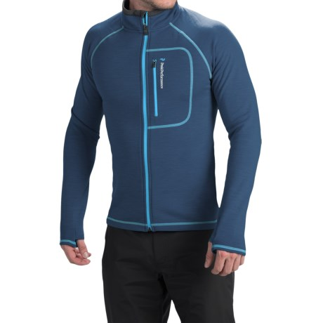 Peak Performance Heli Mid Jacket Full Zip (For Men)