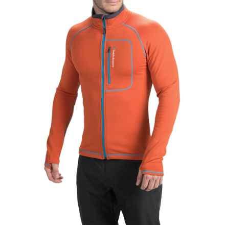 Peak Performance Heli Mid Jacket - Full Zip (For Men) in Hot Orange - Closeouts