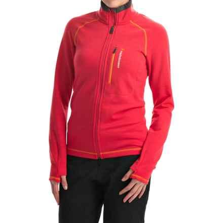 Peak Performance Heli Mid Jacket - Wool Blend (For Women) in Bloody - Closeouts