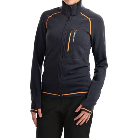 Peak Performance Heli Mid Jacket Wool Blend (For Women)