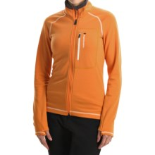 Peak Performance Heli Mid Jacket - Wool Blend (For Women) in Monk Orange - Closeouts