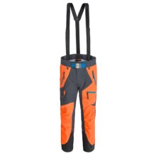 Peak Performance Heli Pro Ski Pants - Waterproof, Removable Suspenders (For Men) in Hot Orange - Closeouts