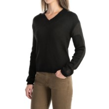 Peak Performance Karen Wool Blend Sweater - V-Neck, Long Sleeve (For Women) in Black - Closeouts