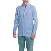 Peak Performance Keen Twill Poplin Shirt - Long Sleeve (For Men) in Shirt Blue - Closeouts