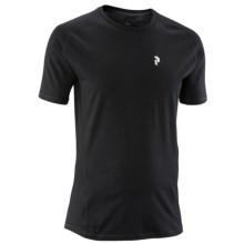 Peak Performance Light Base Layer Top - Merino Wool, Short Sleeve (For Men) in Black - Closeouts