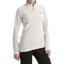 Peak Performance Light Micro Pullover Shirt - Zip Neck, Long Sleeve (For Women) in Off White - Closeouts