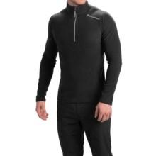 Peak Performance Light Micro Shirt - Zip Neck (For Men) in Black - Closeouts