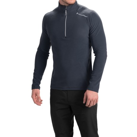 Peak Performance Light Micro Shirt Zip Neck (For Men)