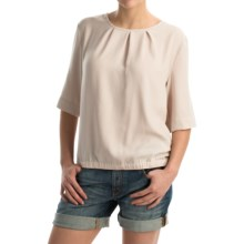 Peak Performance Lovis Blouse - Short Sleeve (For Women) in Stone - Closeouts