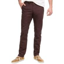 Peak Performance Maxwell Vintage Chino Pants (For Men) in Dark Teak - Closeouts
