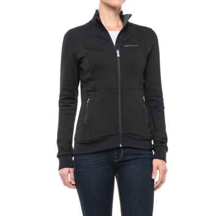 Peak Performance Mid Full-Zip Jacket (For Women) in Black - Closeouts