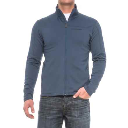 Peak Performance Midlayer Fleece Jacket (For Men) in Decentblue - Closeouts