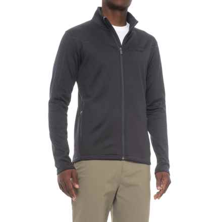 Peak Performance Midlayer Fleece Jacket (For Men) in Saluteblue - Closeouts